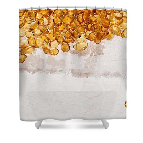 Amber #7863 Shower Curtain