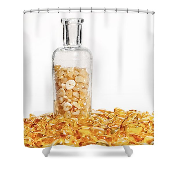 Amber #7900 Shower Curtain