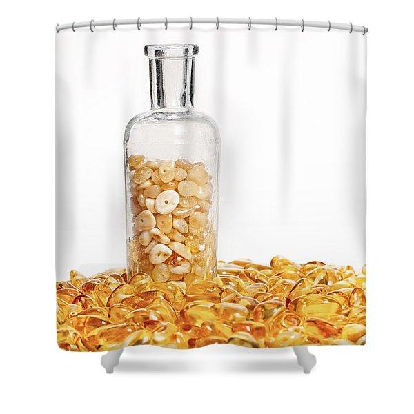 Amber #7900 Shower Curtain