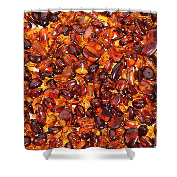 Amber #7960 Shower Curtain