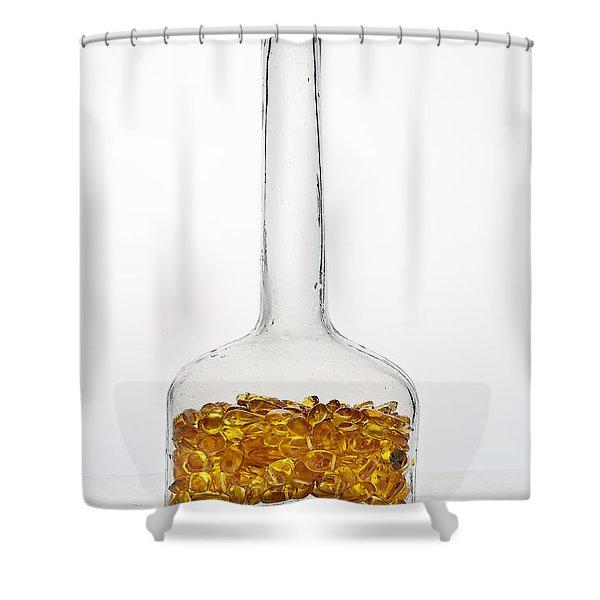 Amber #8198 Shower Curtain