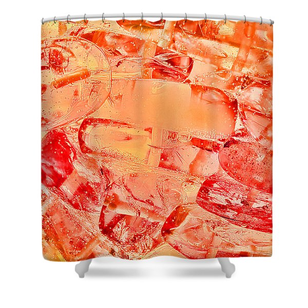 Amber #8371 Shower Curtain
