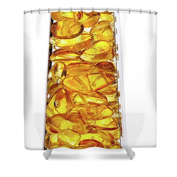 Amber #8527 Shower Curtain
