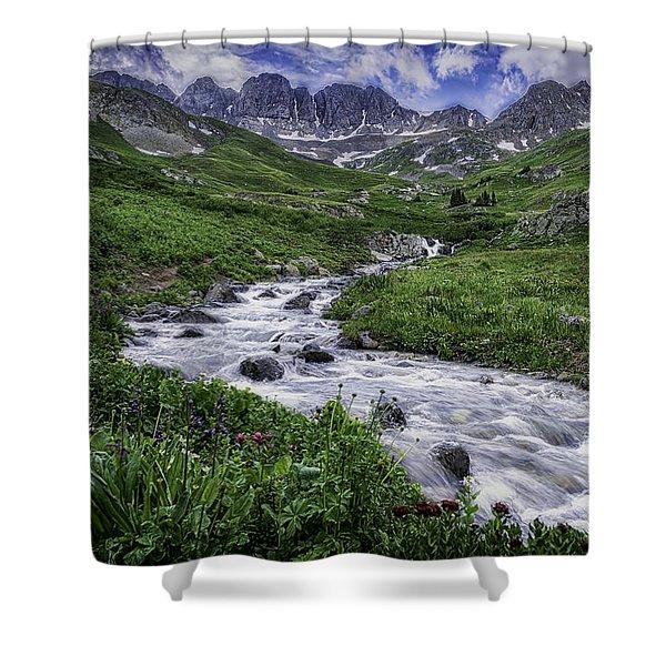 American Basin #2 Shower Curtain