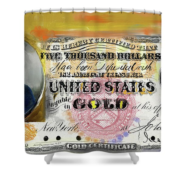 American Engravings I 454 I Shower Curtain