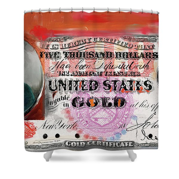 American Engravings I 454 IIi Shower Curtain