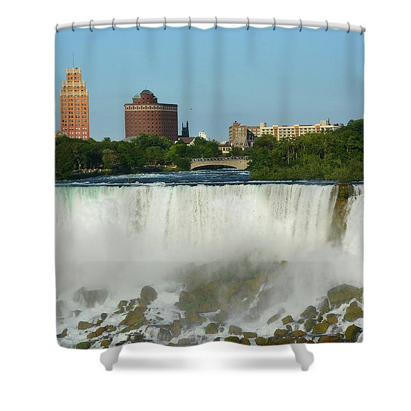 American Falls With Bridal Veil Shower Curtain
