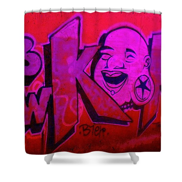 American Graffiti 7 The Star Gauger Shower Curtain