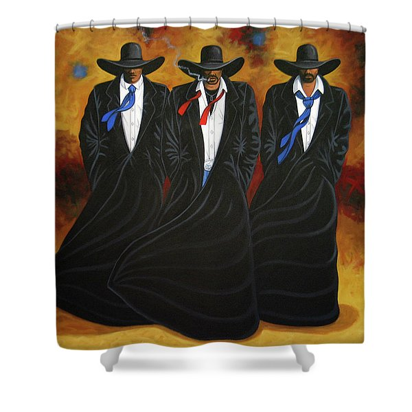 American Justice Shower Curtain