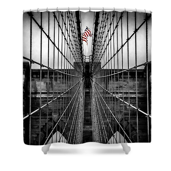 American Patriot Shower Curtain