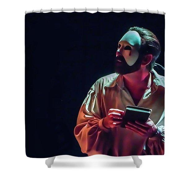American Phantom  Shower Curtain