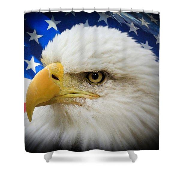 American Pride Shower Curtain