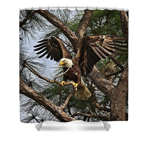 America's Bird Shower Curtain