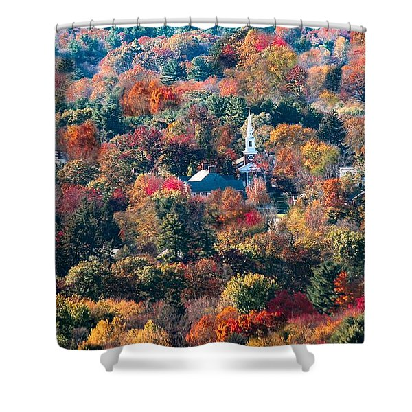 Shower Curtain featuring the photograph Amidst Natural Beauty by Sven Kielhorn