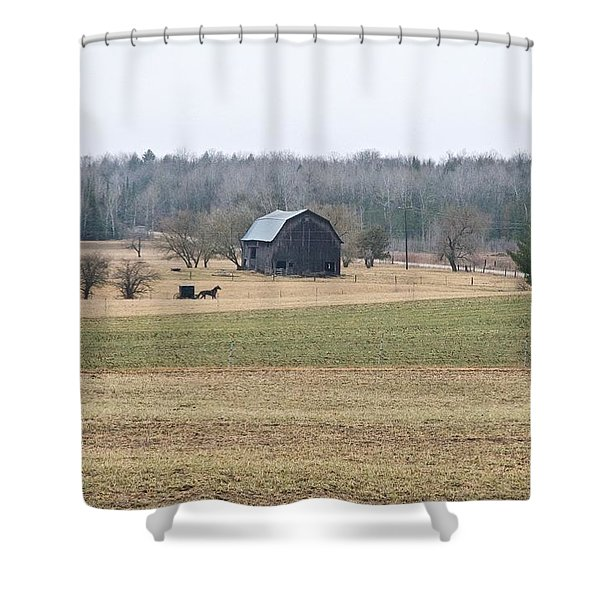 Amish Country 0754 Shower Curtain