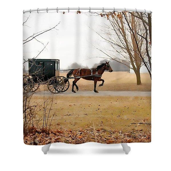 Amish Dream 1 Shower Curtain