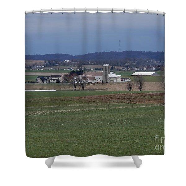 Amish Homestead 125 Shower Curtain