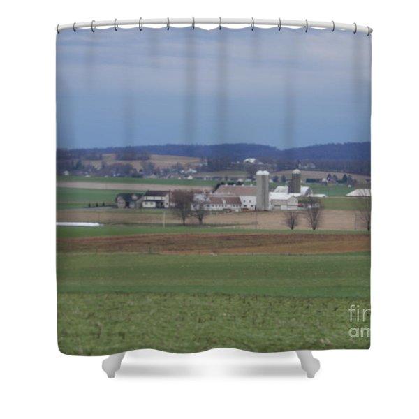 Amish Homestead 3 Shower Curtain
