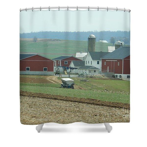 Amish Homestead 6 Shower Curtain