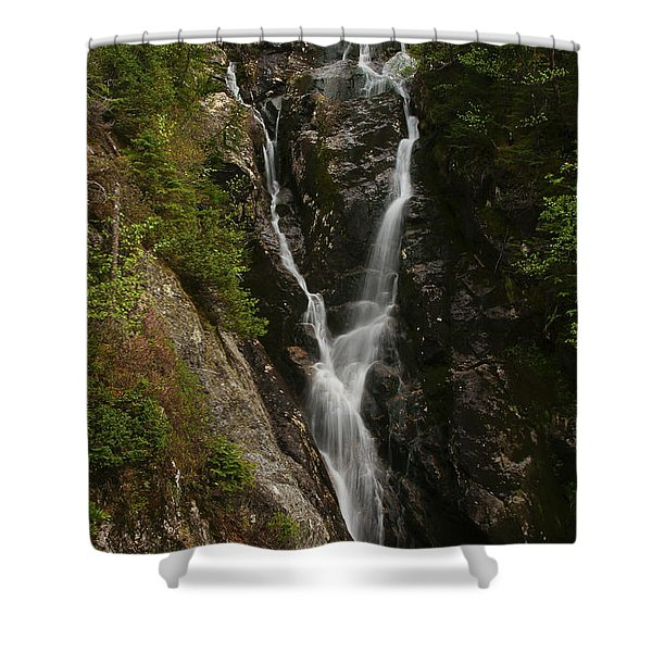 Ammonoosuc Ravine Falls Shower Curtain
