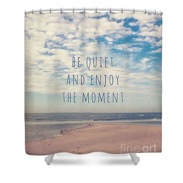 Amrum Moments II Shower Curtain