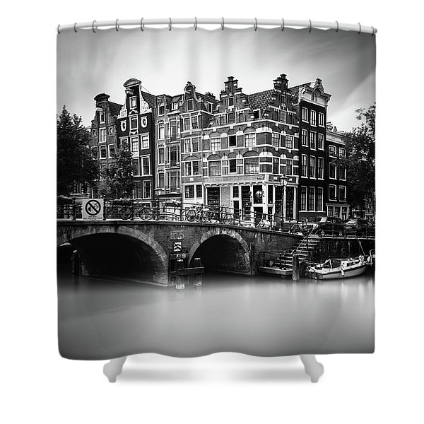 Amsterdam, Brouwersgracht Shower Curtain