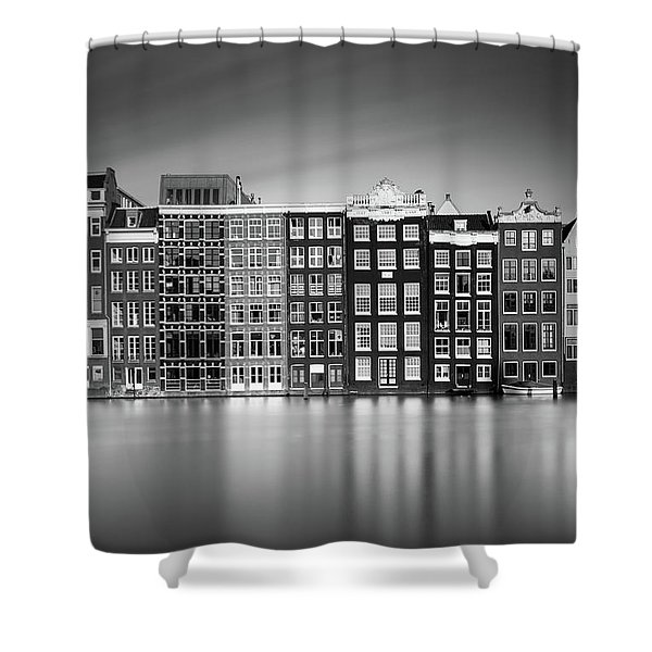 Amsterdam, Damrak I Shower Curtain