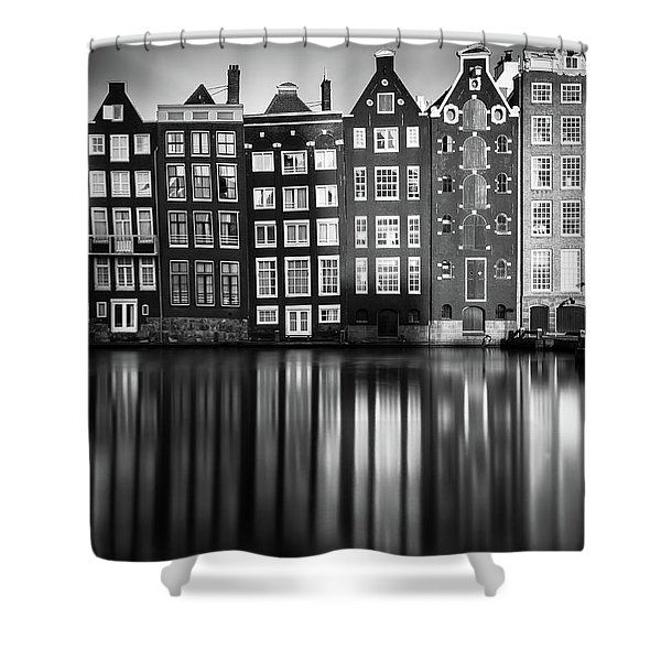 Amsterdam, Damrak II Shower Curtain
