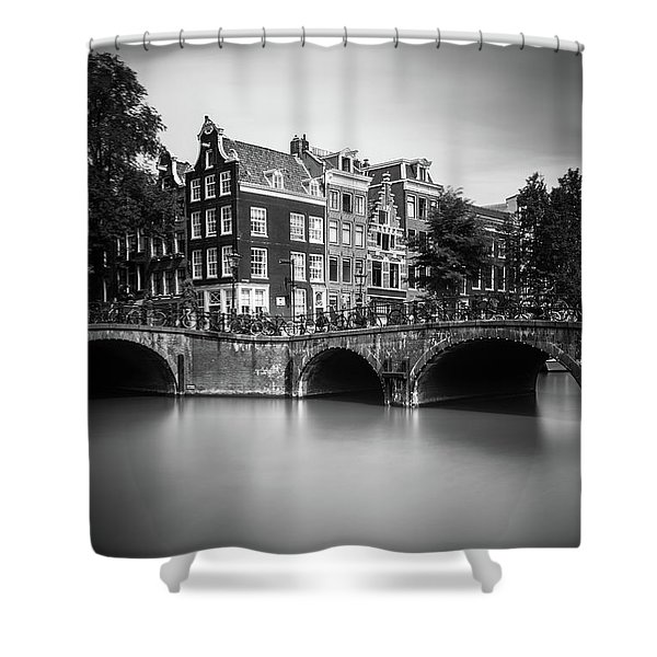 Amsterdam, Leliegracht Shower Curtain