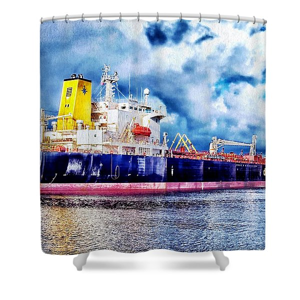 Amsterdam Vessel Shower Curtain
