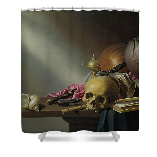 An Allegory Of The Vanities Of Human Life Shower Curtain