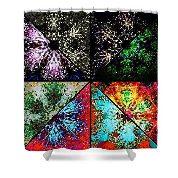 An Art Of Balance Shower Curtain