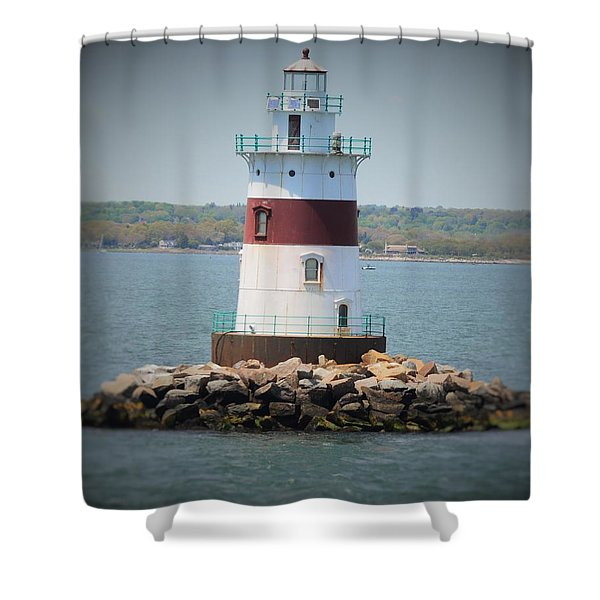 Lights Out Shower Curtain