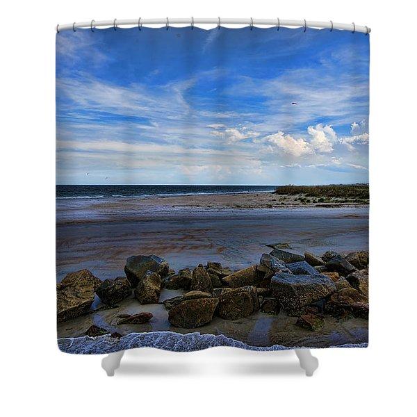 An Endless Summer Shower Curtain