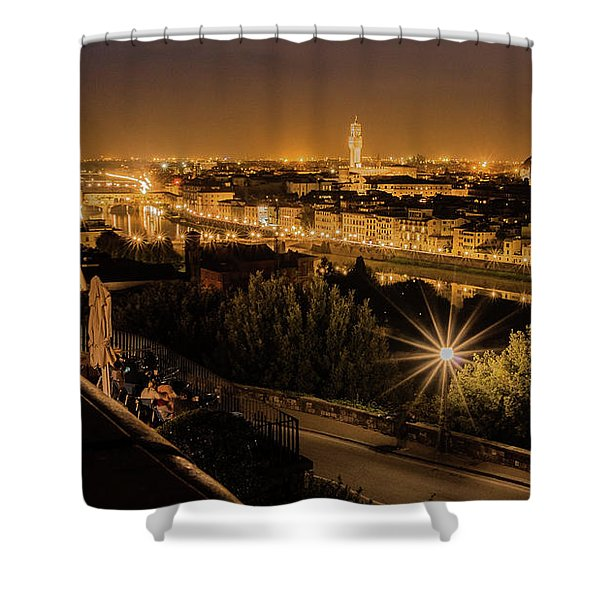 An Evening In Florence Shower Curtain