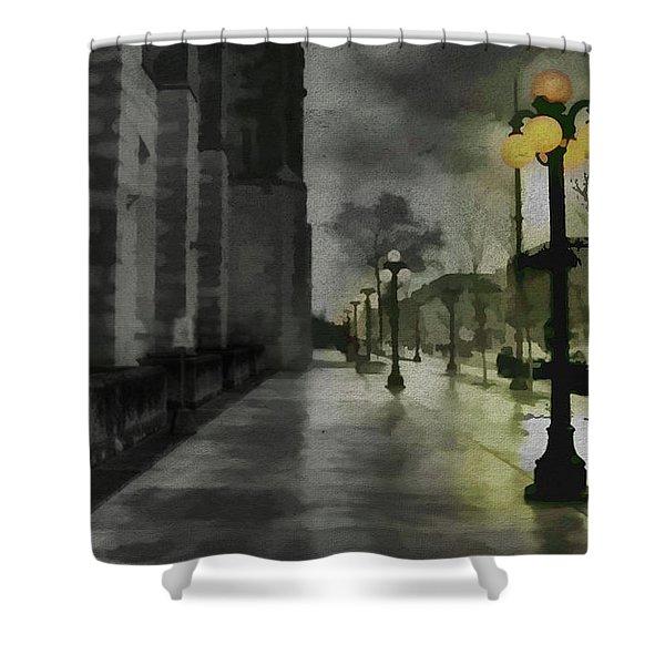 An Evening In Paris Shower Curtain