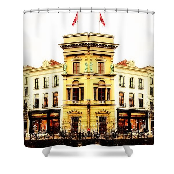 An Idea Of Utrecht Shower Curtain