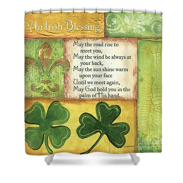An Irish Blessing Shower Curtain
