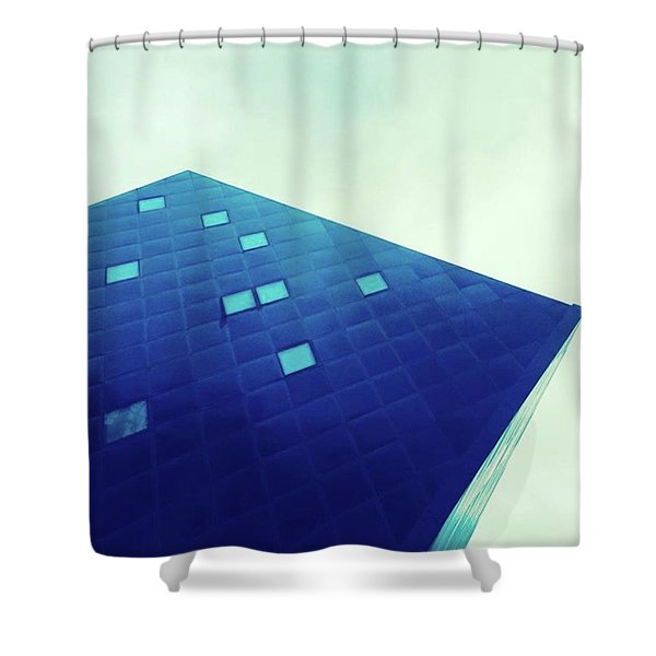 An Irresistible Icon. Every Sf Visit Shower Curtain
