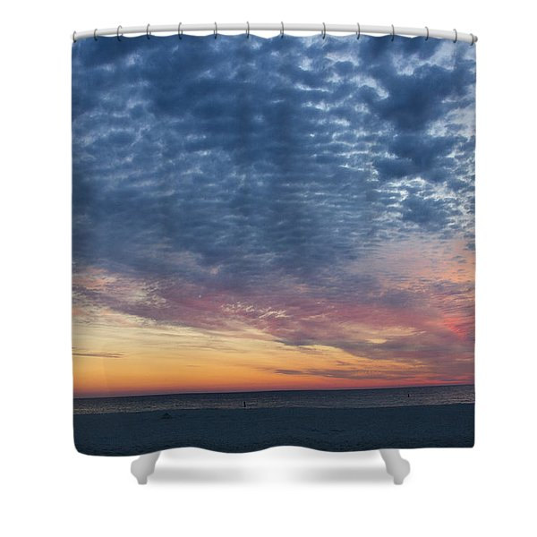 Ana Maria At Dusk Shower Curtain