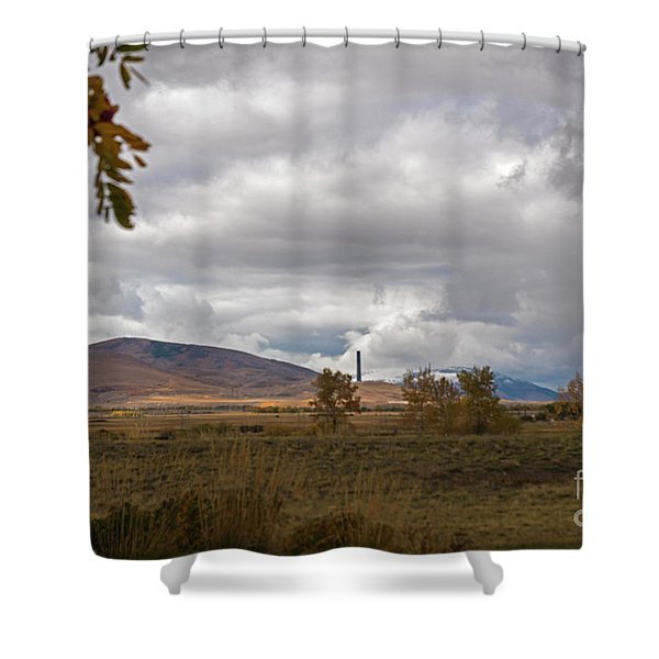 Anaconda Smelter Stack Shower Curtain