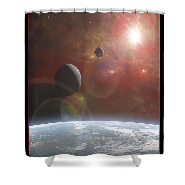 Ananke Shower Curtain