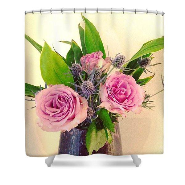 Forever Flowers Shower Curtain