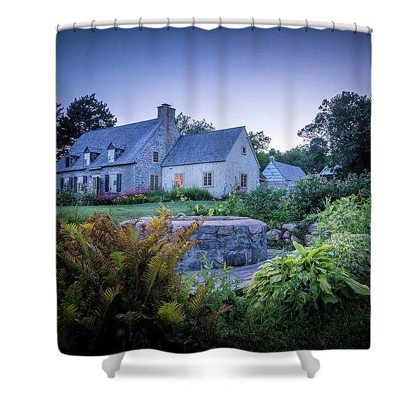 Ancienne Maison Bordeleau Shower Curtain