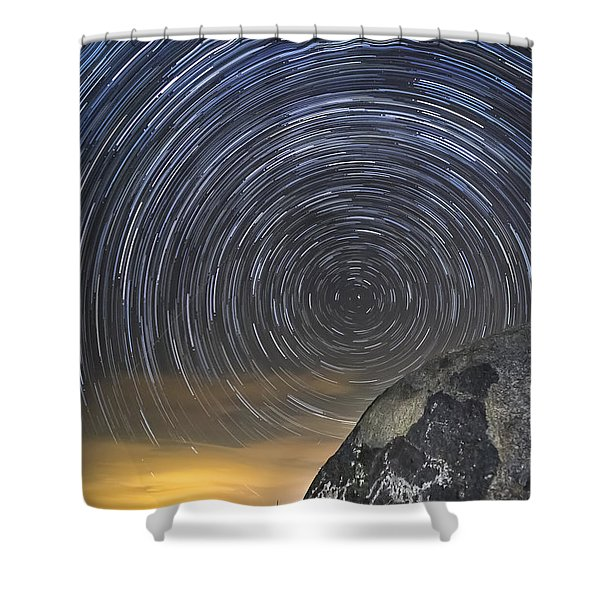 Ancient Art - Counting Sheep Shower Curtain