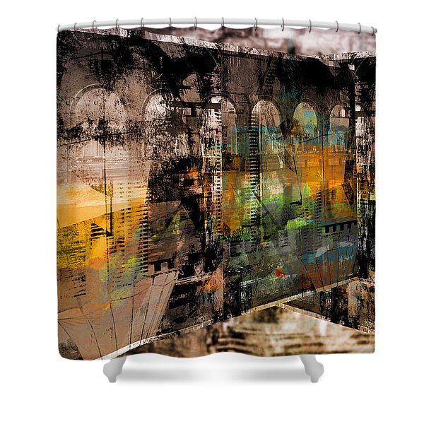 Ancient Stories Shower Curtain