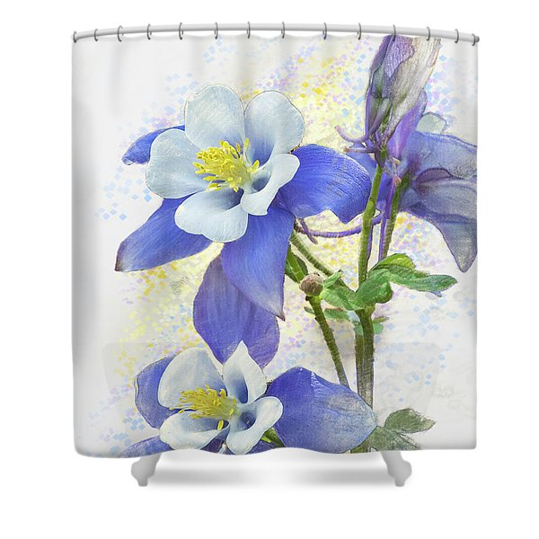 Ancolie Shower Curtain