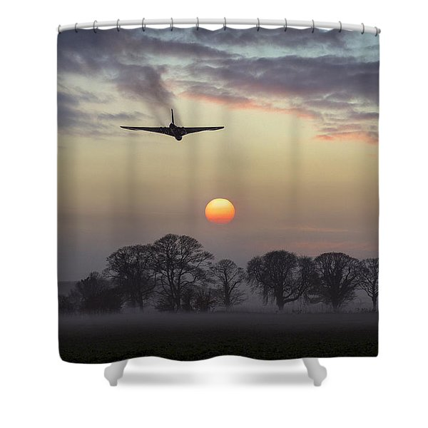 And Finally Shower Curtain