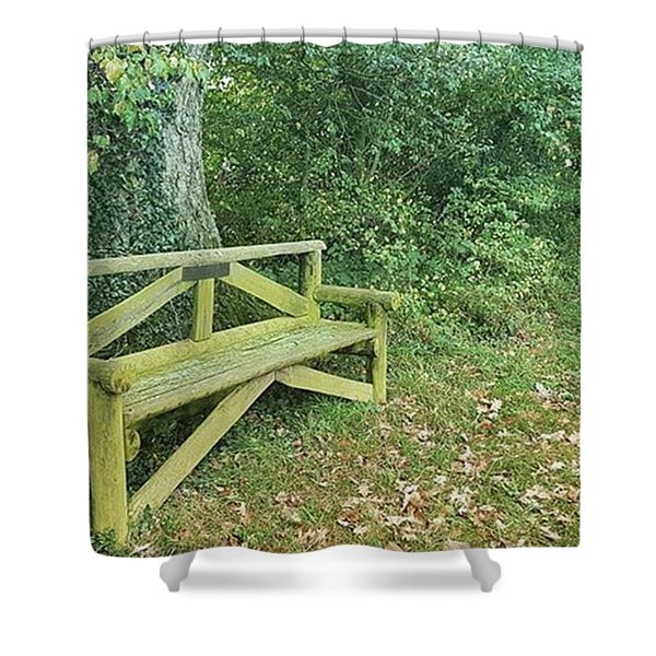 Woodland Seat Shower Curtain