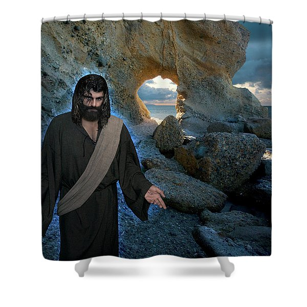 And Surely I Am With You Always To The Very End Of The Age Shower Curtain